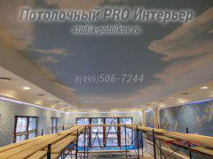 Фотографии натяжных потолков