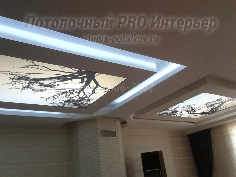 световой потолок 3